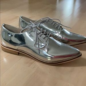 Forever 21 never worn silver dress shoes